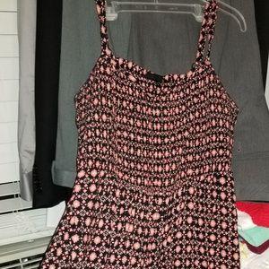 Plus size sun dress